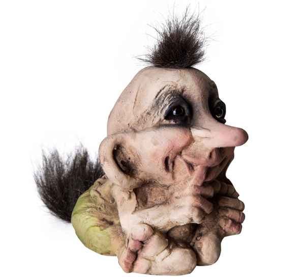 Image of Troll baby, sitting mouth, (Troll # 065)