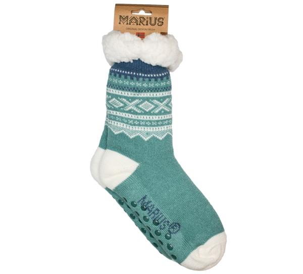 Image of Snuggle sock Marius® pattern© mint