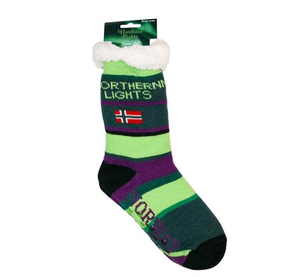 Image of Northern lights cuddly sock