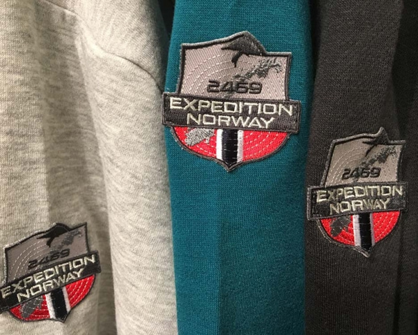 Image of Hoodie gray, Expedition Norway 2469