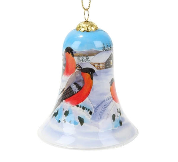 Image of Bell with bullfinch