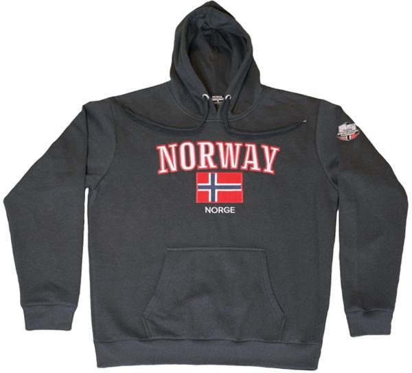 Image of Hoodie dark gray, Expedition Norway 2469