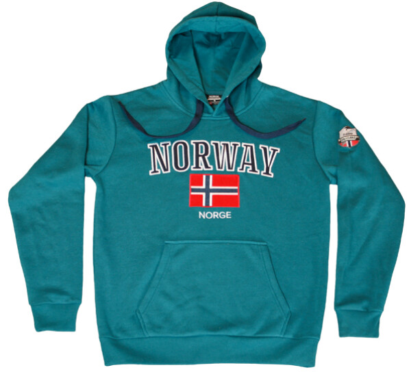 Image of Hoodie petrol, Expedition Norway 2469