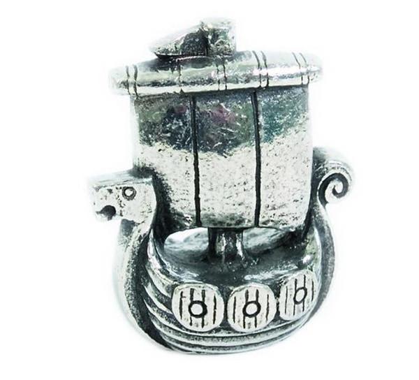 Image of Figurine, Viking ship Tinn-Per