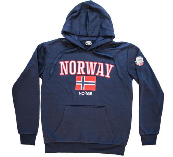 Image of Hoodie dark blue, Expedition Norway 2469