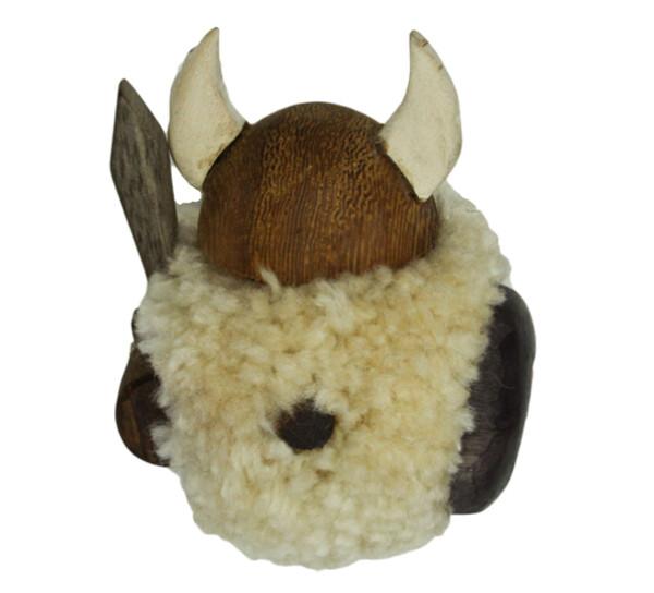 Image of Magnet, beige pompom viking