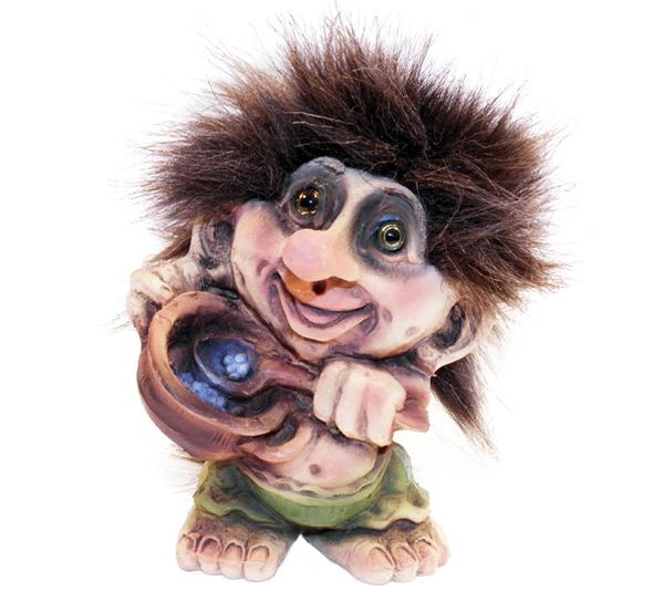 Image of Troll w/blueberries (Troll # 097)