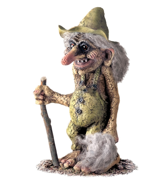 Image of Troll  with hat (Troll # 102)