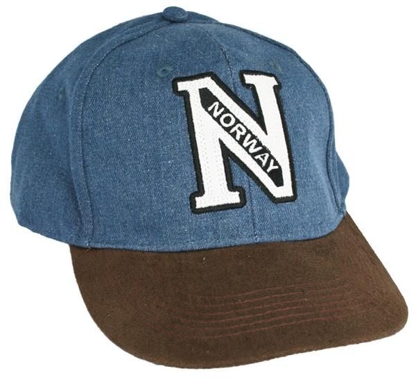 Image of Caps blue/brown, Norway