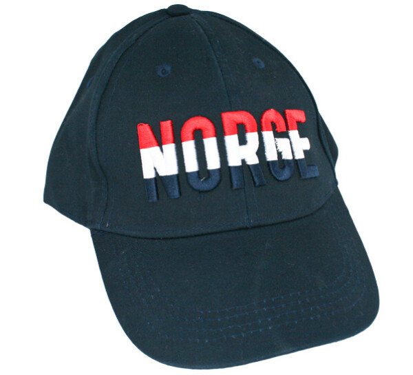 Image of Caps blue, 'Norge' red/white/blue