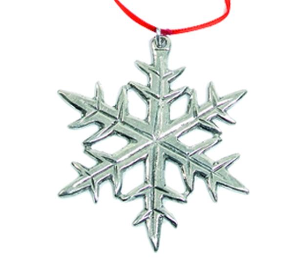 Image of Ornament, Snowflake Tinn-Per