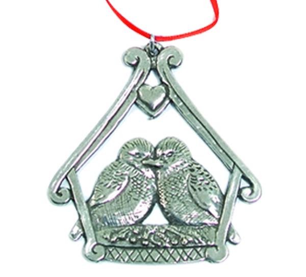 Image of Ornament, Birds Tinn-Per