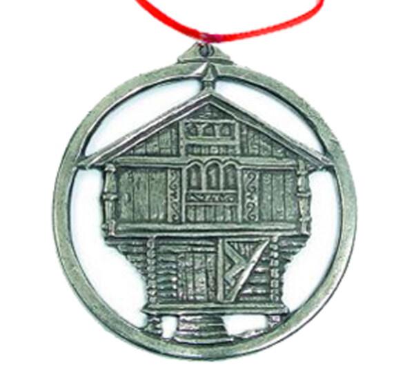 Image of Ornament, Stabbur, large Tinn-Per