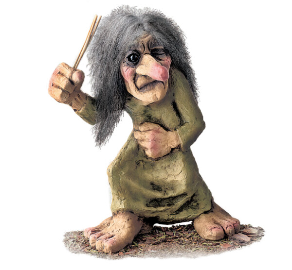 Image of Troll  woman (Troll # 129)