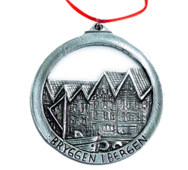 Image of Ornament, 'Bryggen' in Bergen Tinn-Per