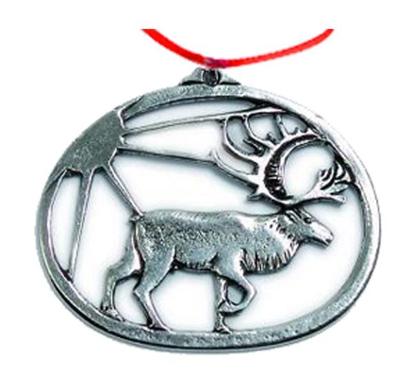 Image of Ornament, Reindeer Tinn-Per