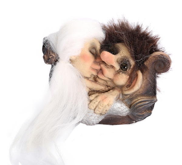 Image of Troll with mermaid, (Troll # 153)
