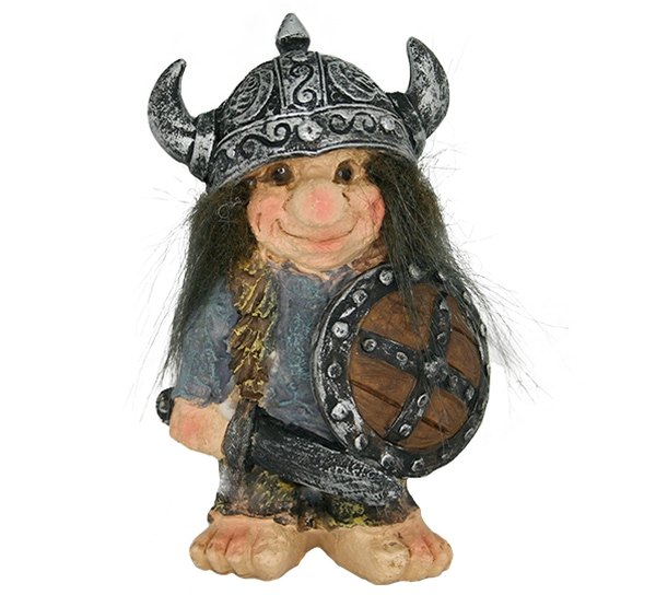Image of Viking troll with blue sweater