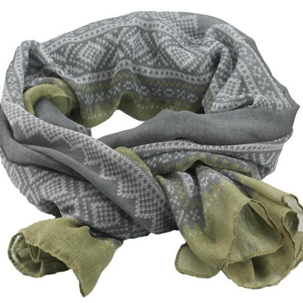 Image of Marius® scarf, grey/green