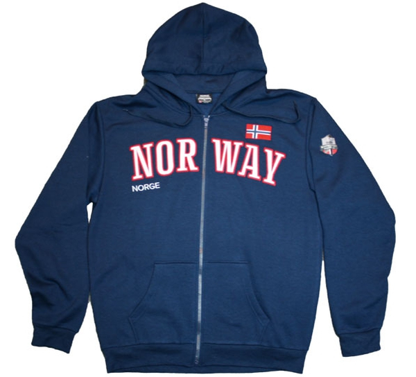Image of Hooded jacket, dark blue, Expedition Norway 2469