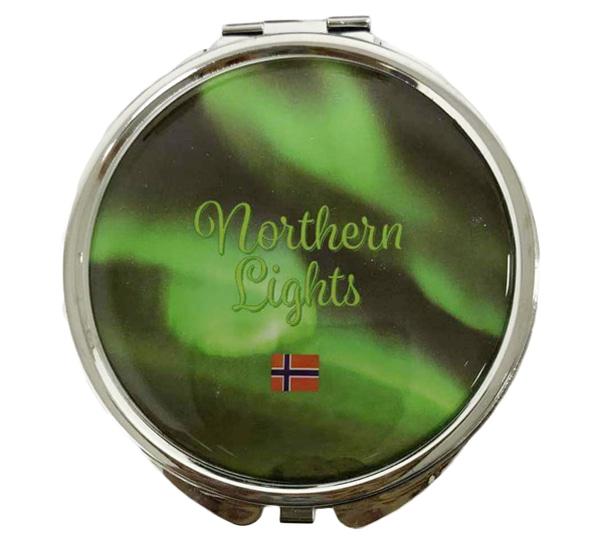 Image of Northern lights pocket mirror