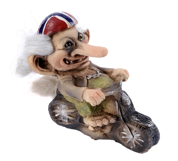 Image of Troll on motorbike (Troll # 154)