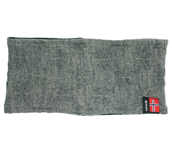 Image of Headband with purl stitch rose grey