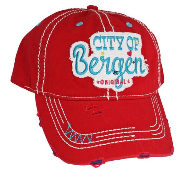 Image of Cap City of Bergen, red