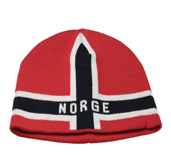 Image of Flag hat Norge red/white/blue