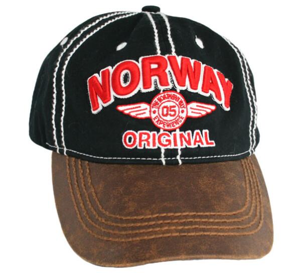 Image of Caps black, 'Norway original'