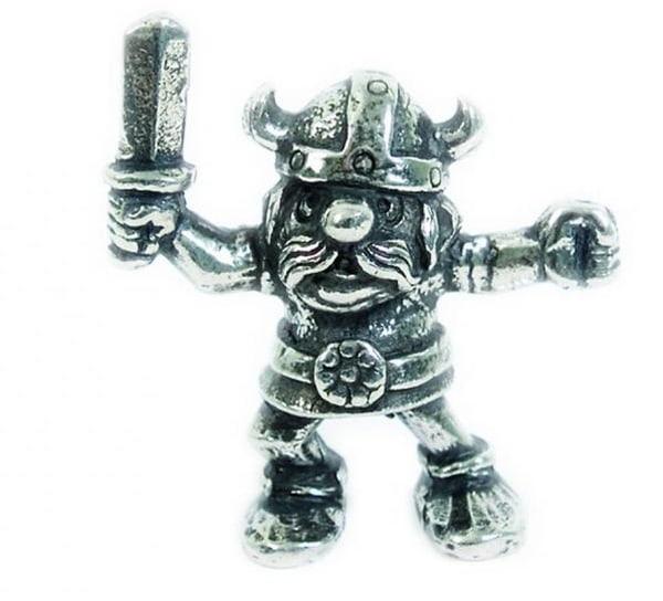 Image of Figurine, Viking w. sword Tinn-Per