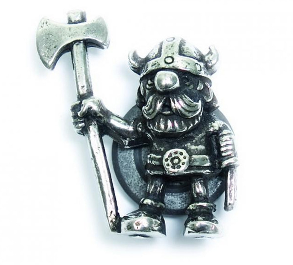 Image of Magnet, Viking with axe Tinn-Per