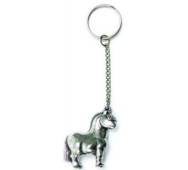 Image of Key Chain, Horse Tinn-Per