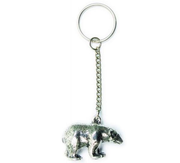 Image of Key Chain, Polar Bear Tinn-Per