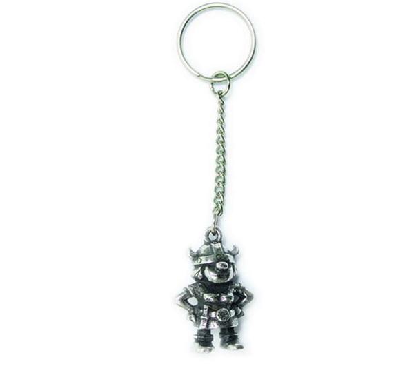 Image of Key Chain, Viking girl Tinn-Per