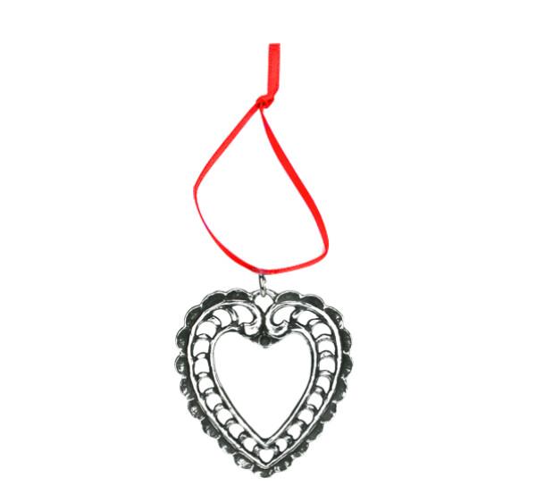 Image of Ornament, Farmers Heart Tinn-Per