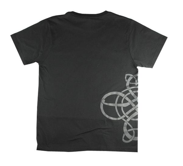 Image of T-Shirt, Viking pattern, black