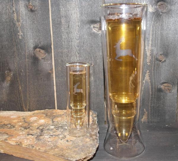 Image of Silver Deer Glass