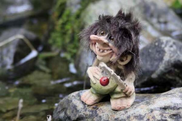 Image of Troll fisherman, small (Troll # 069)