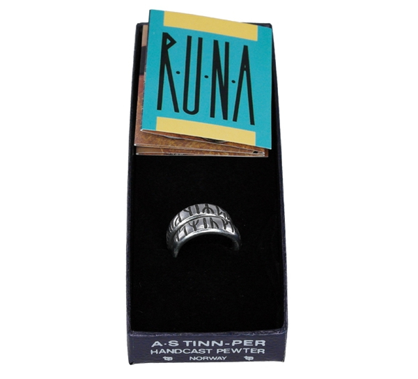 Image of Ring with runic writing Tinn-Per