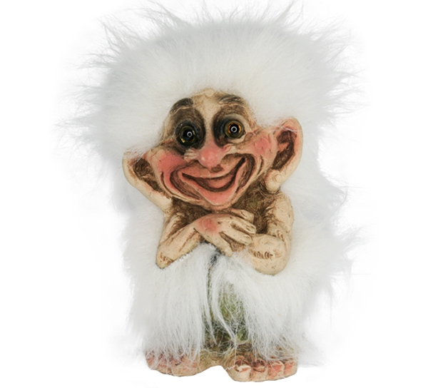 Image of Troll with white hair (Troll # 114)