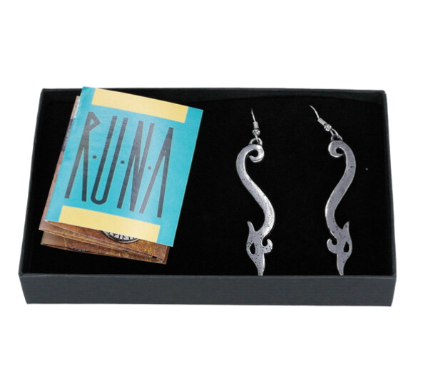 Image of Earrings 'Urnes' Tinn-Per