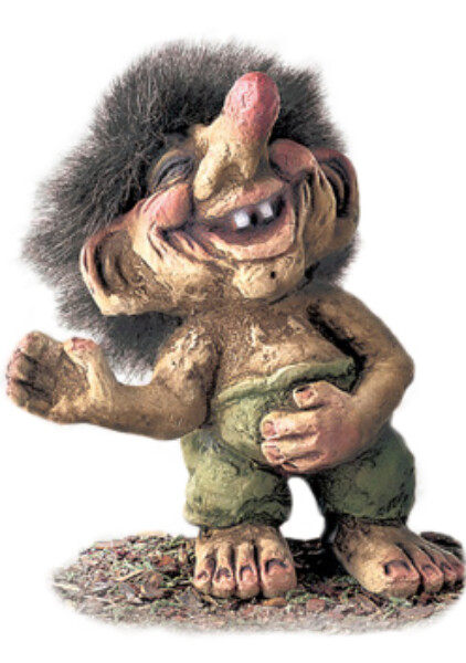 Image of Happy troll (Troll # 241)