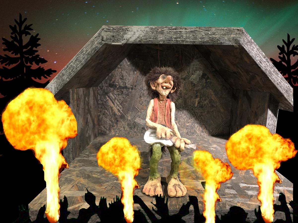 Troll  rock musician (Troll # 305)