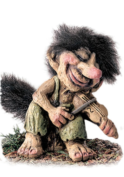 Image of Troll, fiddler (Troll # 245)
