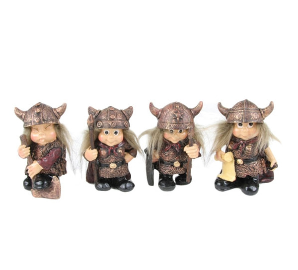Image of Viking children, set of 4