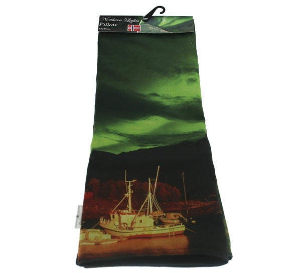 Image of Northern lights pillowcase