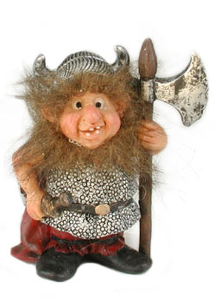 Image of Viking w/axe and sword