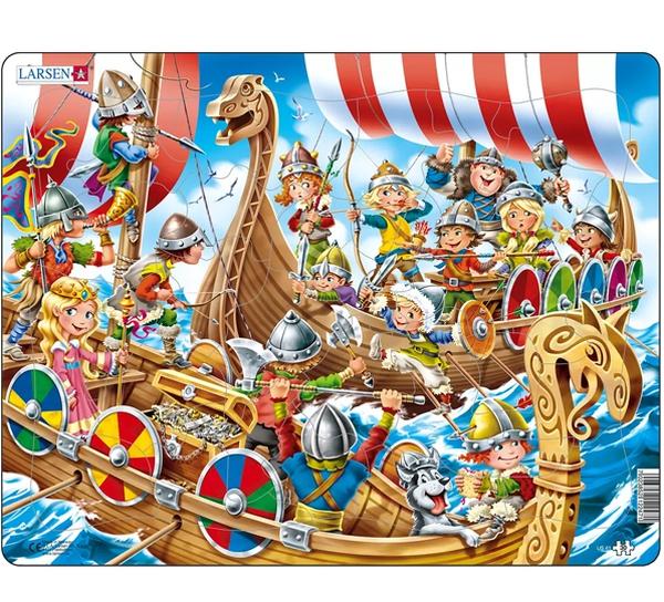 Image of Puzzle, Viking children