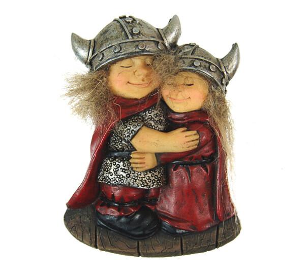 Image of Magnet, Vikings hugging